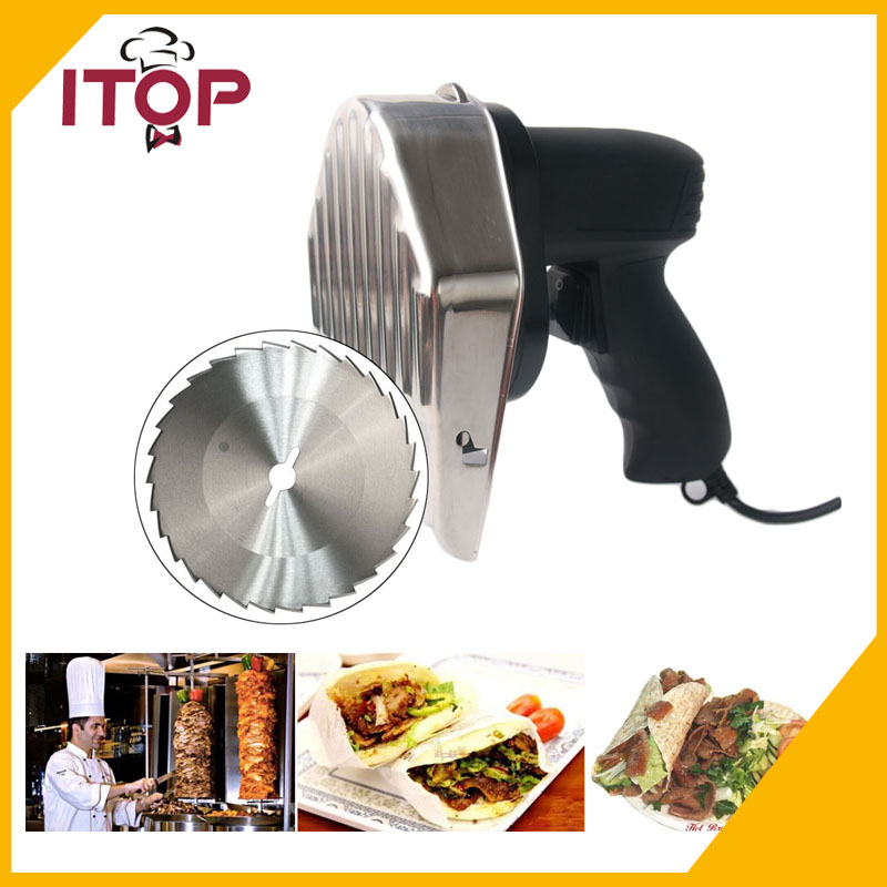 Fast Delivery! Professional Electric Shawarma Doner Kebab Knife,Kebab Slicer,Gyros Knife/Gyro Cutter +2 Blades food machine automatic electric doner kebab slicer for shawarma brand new kebab knife 110v 240v kebab slicer gyros knife quality