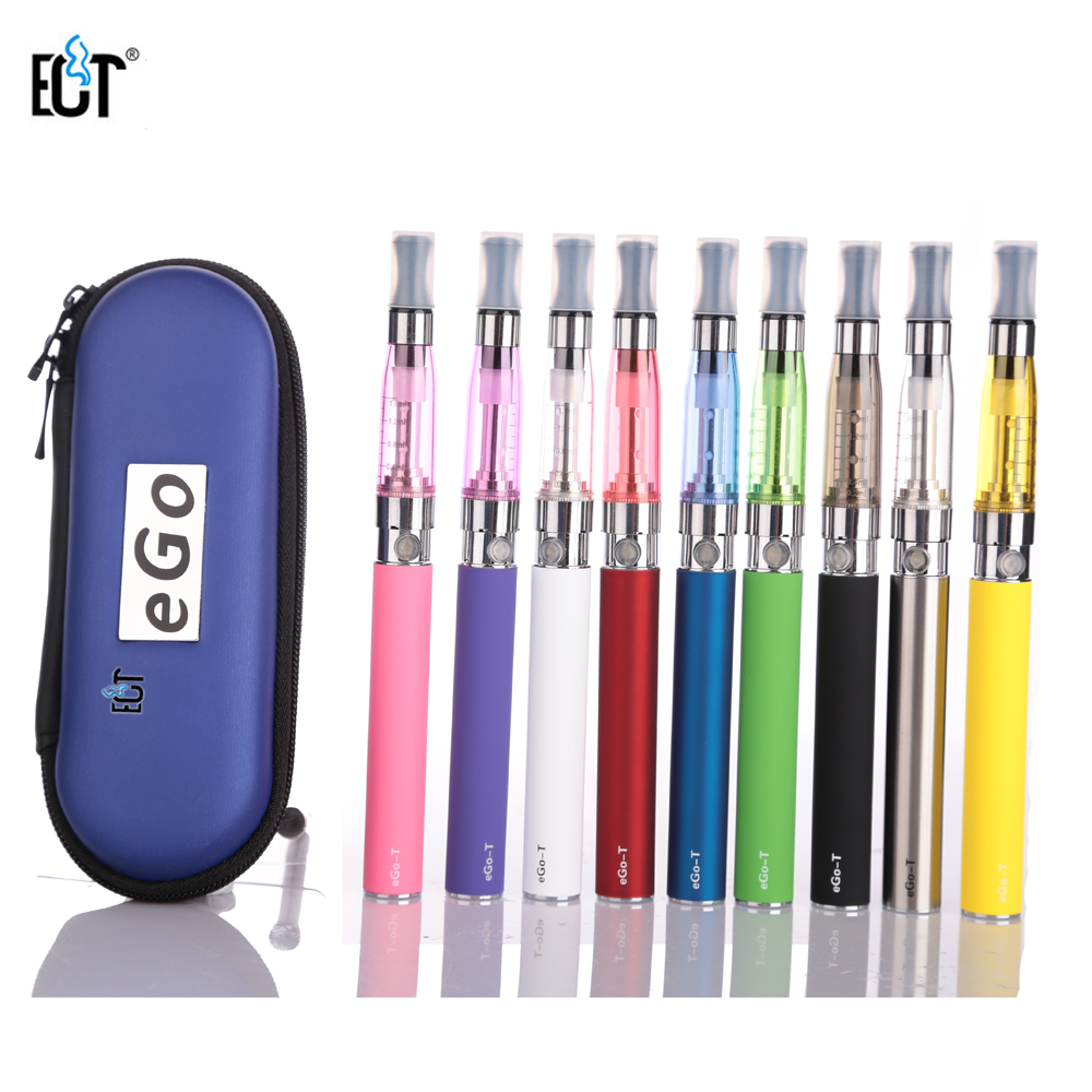 цена на eGo CE5 clearomizer Kits E Cigarette eGo-T Battery 650mah 900mah 1100mah CE5 Atomizer in a Zipper Case for Electronic Cigarette