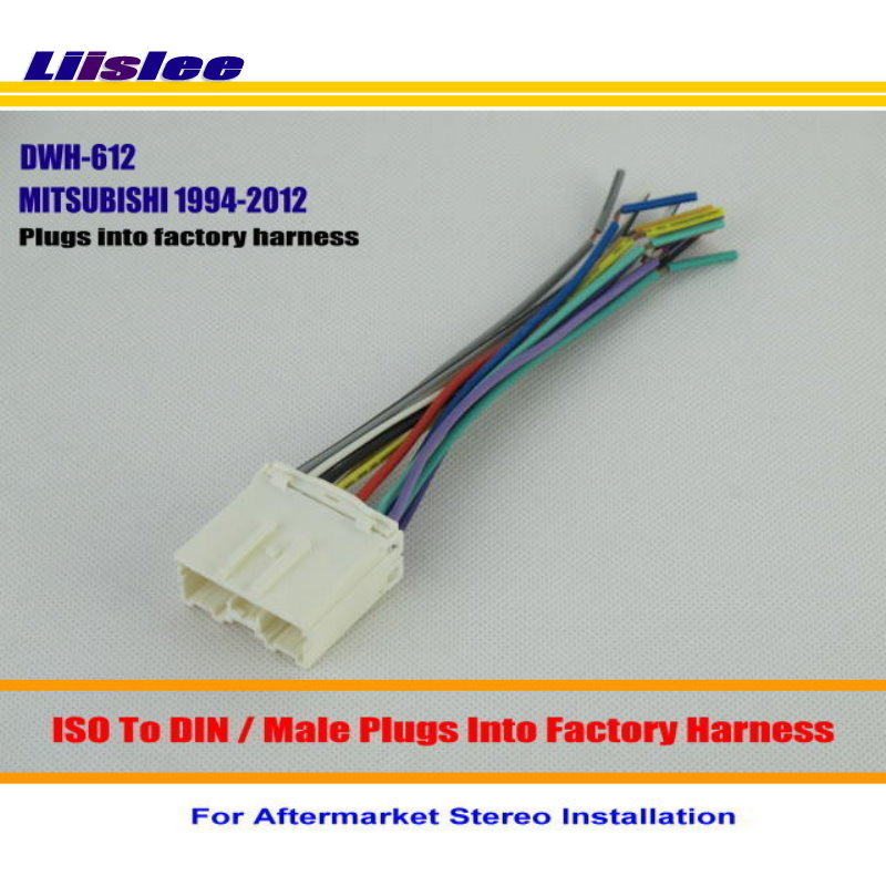 Liislee Car Wiring Harness For MITSUBISHI Mirage Montero Outlander