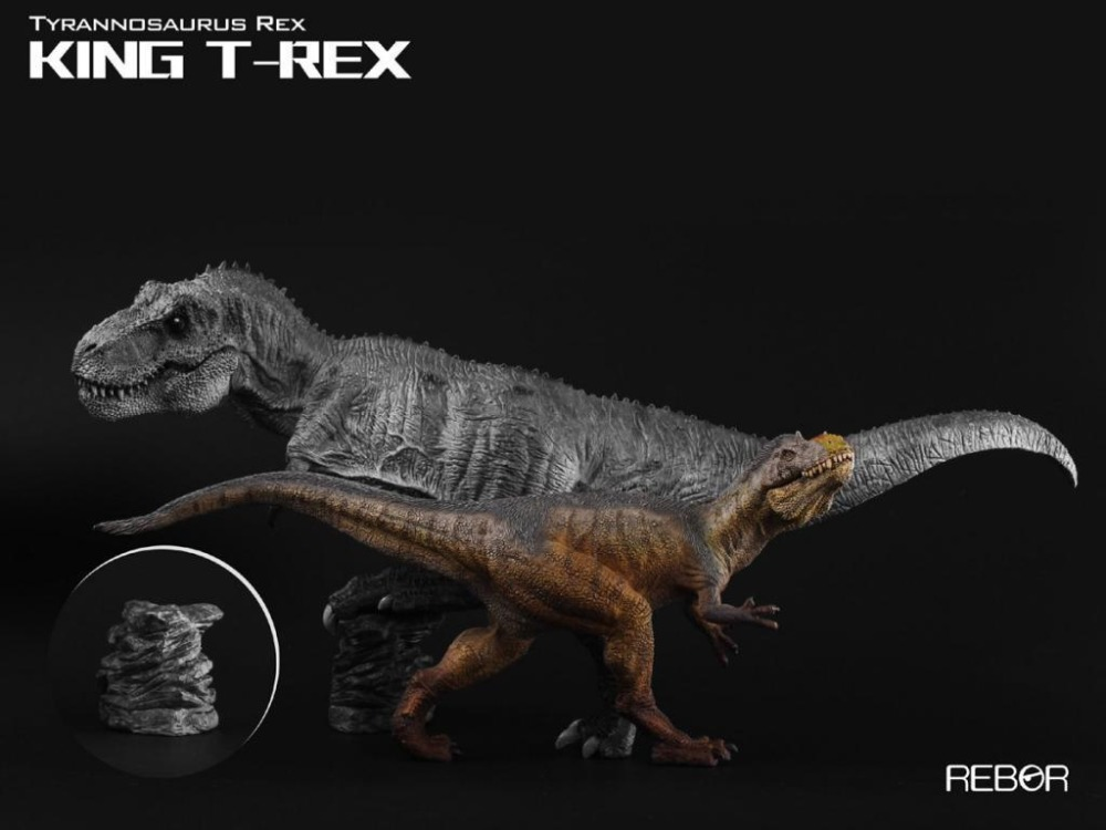 Jurassic World Dino King Tyrannosaurus Rex T-Rex 1//35 Dinosaur Resin PVC Statue