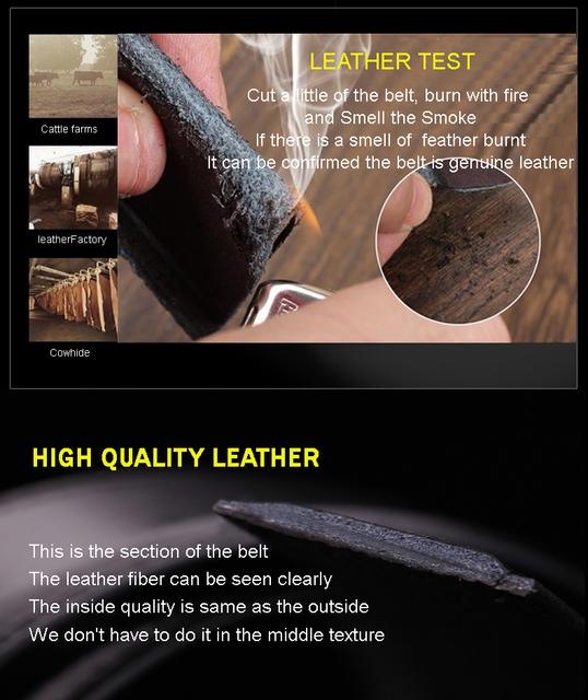 Fashion designer leather strap male automatic buckle belts for men authentic girdle trend men's belts ceinture cinto masculino
