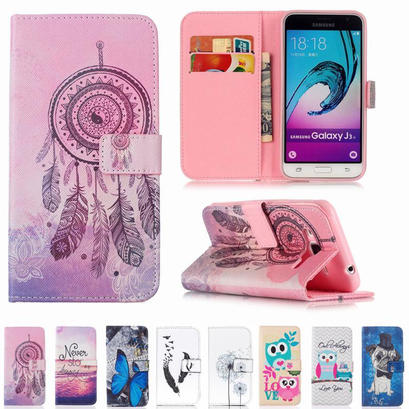 22 species pattern cartoon wallet for coque samsung galaxy. Black Bedroom Furniture Sets. Home Design Ideas