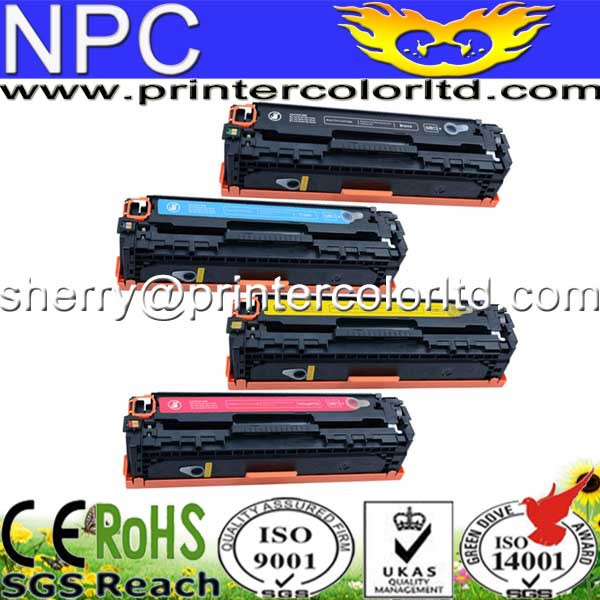 Kompatibel CC530A, CC531A, CC532A, cc533a color tonerkartusche für hp color laserjet cm2320/cp2020/cp2025...