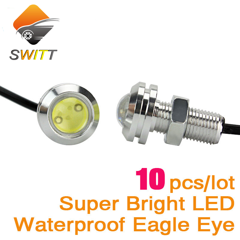 10pcs DRL led car light Eagle Eye parking lights Daytime Running Light Waterproof eagle eye Tail working light Source fog lamp tonewan new arrive 2pcs waterproof car drl led eagle eye light 10w car fog daytime running light reverse backup parking lamp