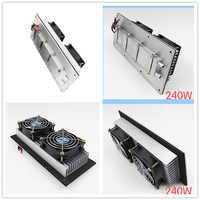 KOOLASON Semiconductor electronic Peltier refrigeration Small Space air  conditioning Water Cooling Aluminum radiator Cold fan