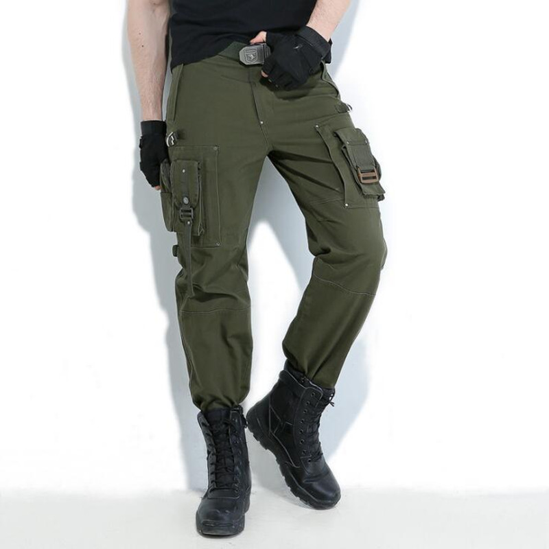 Militar Camo Pantalones Nuevos verde Rodillera Ejército Estilo Hombre Ropa Combate Negro Camuflaje Tácticos Monos PtPqZxOwE