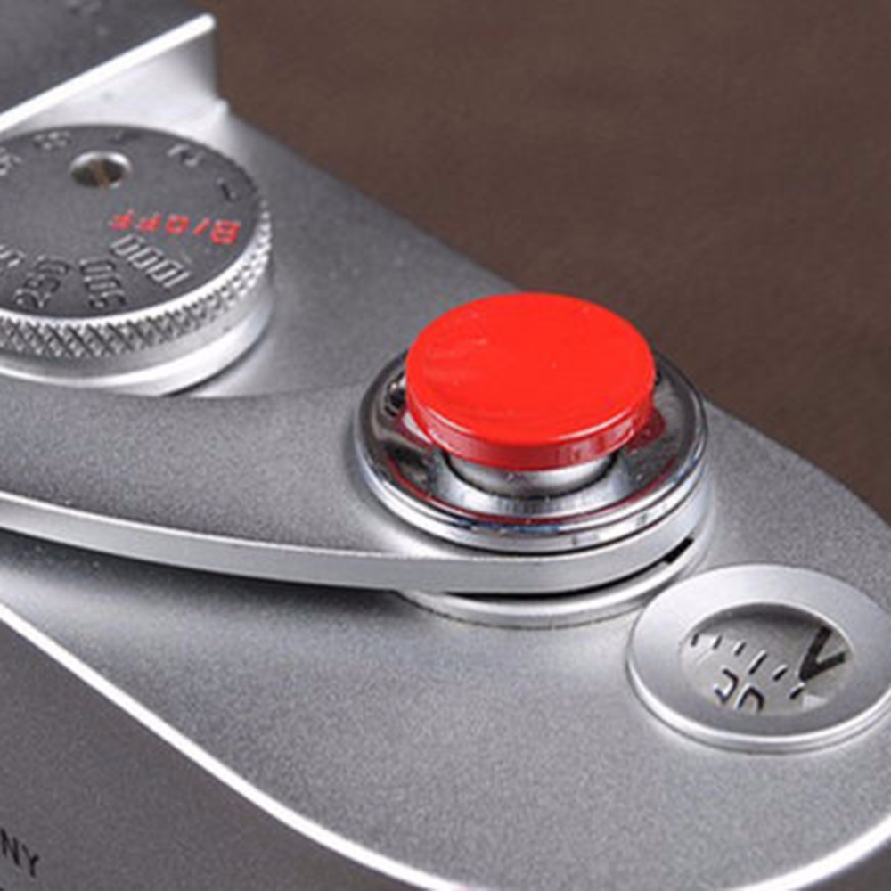 Imported From Abroad 1pcs Camera Metal Soft Shutter Release Button For Fujifilm X100 Leica M4 M6 (red) Strong Packing