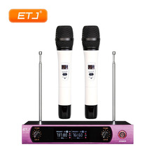 Professional Wireless Microphone 2 Handheld Transmitter Bodypack Headset Microphone Beltpack VHF Wireless Microfone U-102 takstar ts 331a vhf wireless microphone vhf wireless system for live performances conference musical and opera