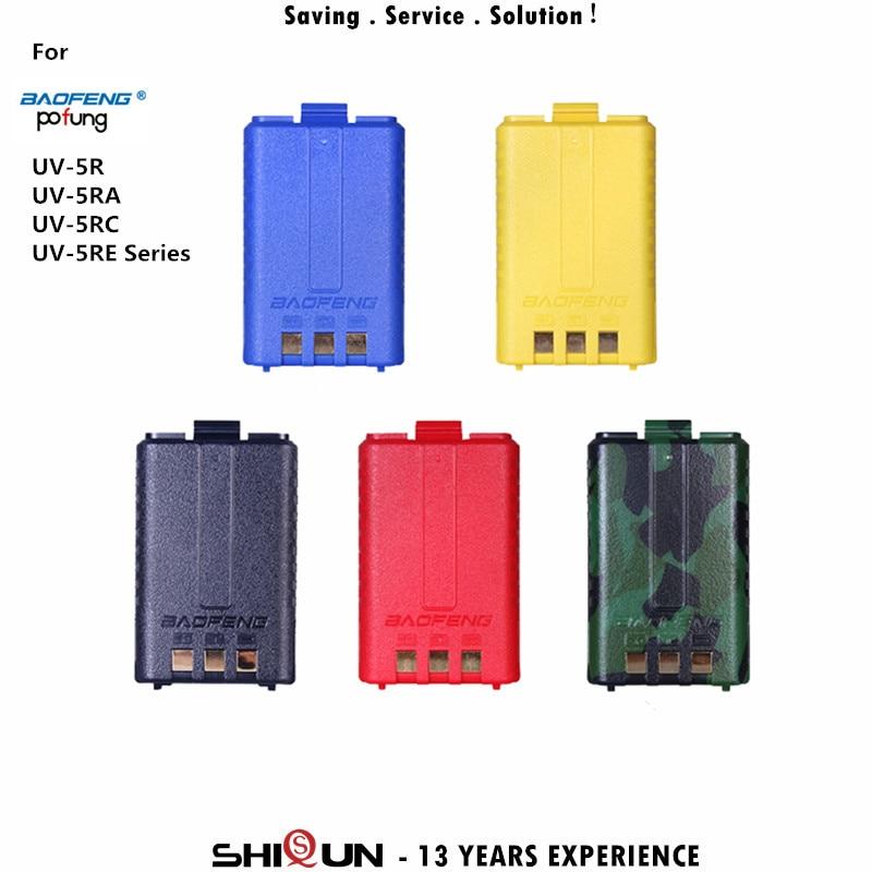 bilder für Original BaoFeng 1800 mAh Li-Ion Akku BL-5 Geeignet für BaoFeng UV-5R UV-5RA UV-5RC UV-5RE DC 7,4 V Batterie Baofeng Zubehör