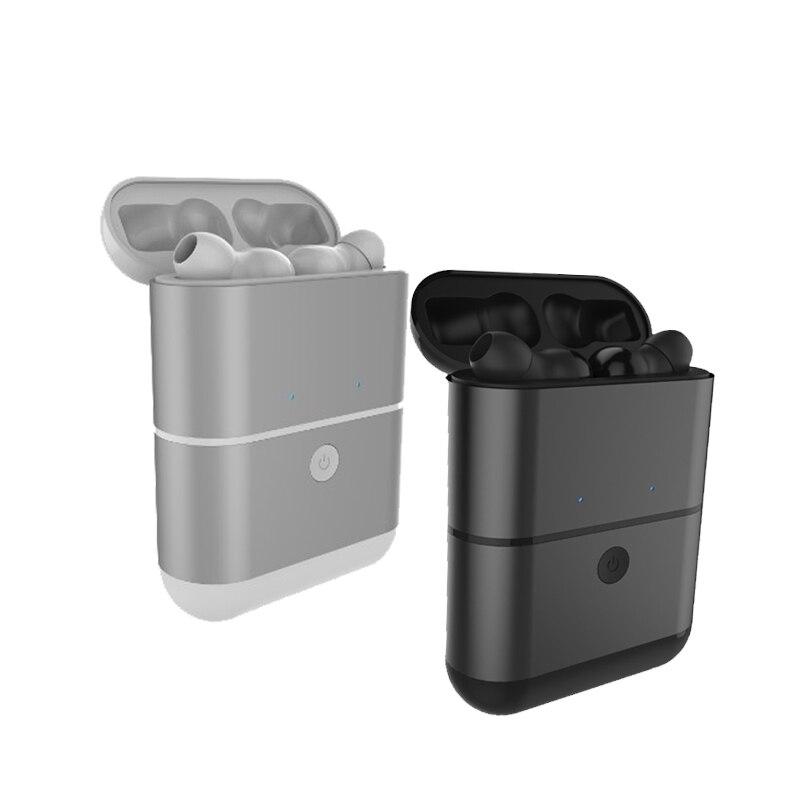 Mini Wireless Bluetooth Headset TWS Bluetooth Earphones With Microphone Separate Storage ...