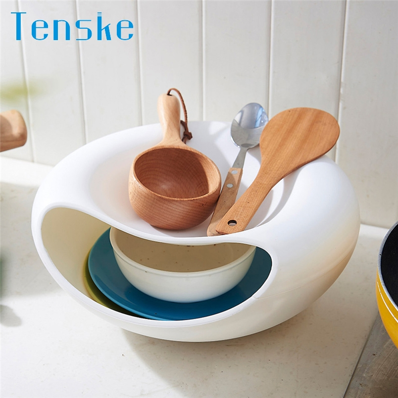 Tenske Storage box Creative Bowl Shape container Perfect For containing Seeds Nuts&Dry Fruits*20 GIFT 2017 Drop