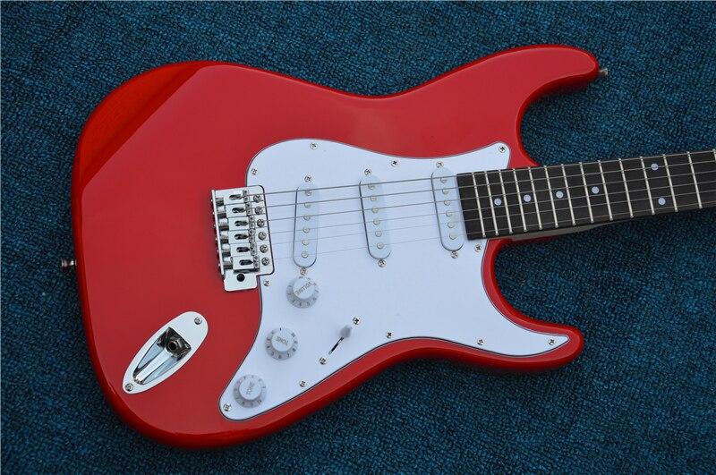 electric guitar wholsale electric guitar st guitarra red color electric guitar guitar in china. Black Bedroom Furniture Sets. Home Design Ideas