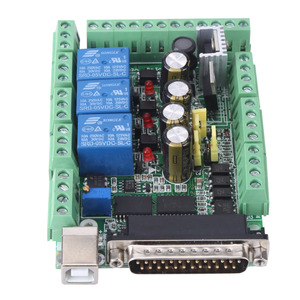 Image 4 - 4 axls 6 axls CNC Breakout Board CNC Engraving Machine Breakout Board For Stepping Motor Driver MACH3V2.1 L Interface Adapter