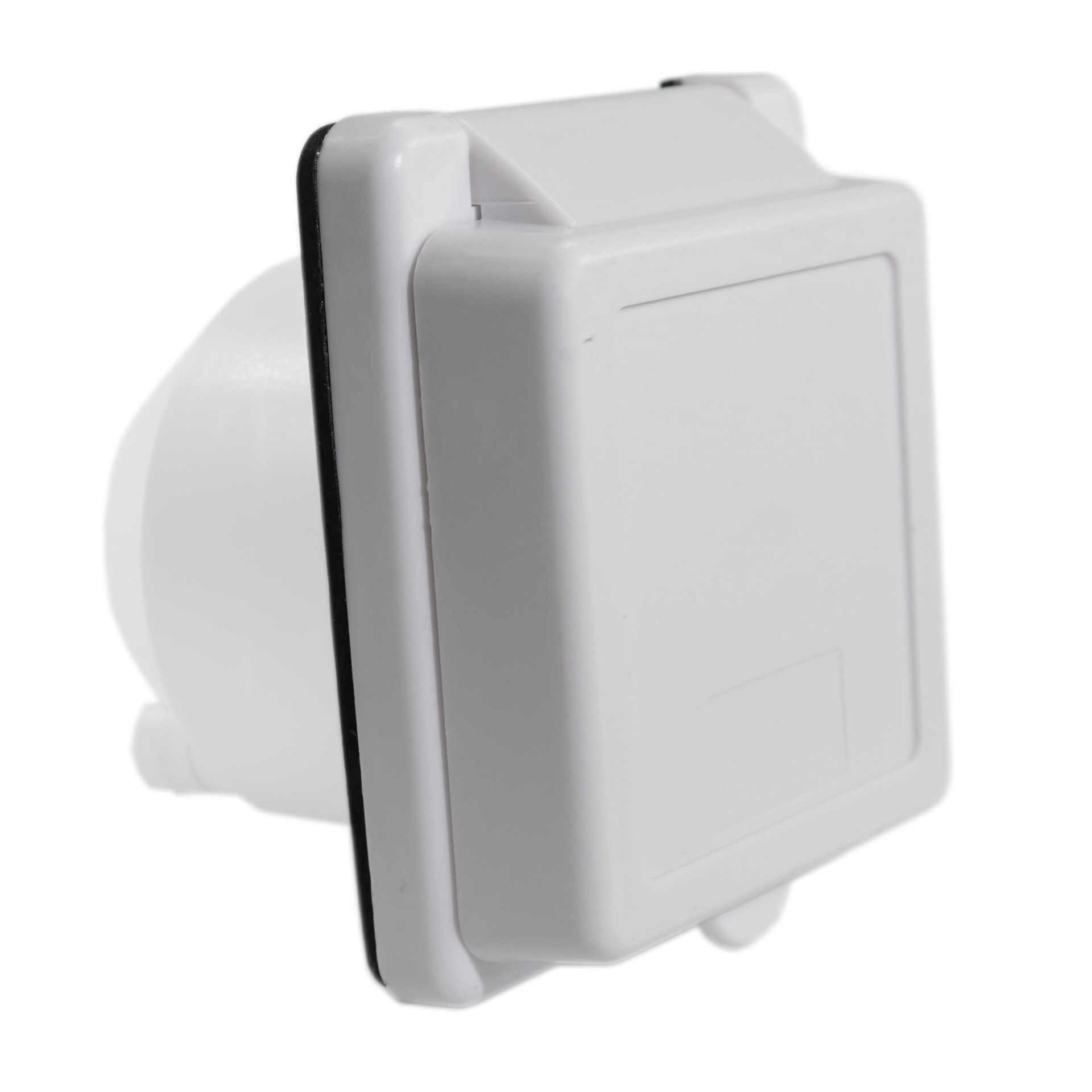 Kemping Mobil Motor Perlengkapan Tahan Air RV Perahu Listrik 30A 3 Pin Torsi Kunci Caravan Koneksi Soket Plug