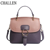 Women S Bags Spring And Summer New Female Package Fashion Ring Platinum Package Lychee Pattern Handbag