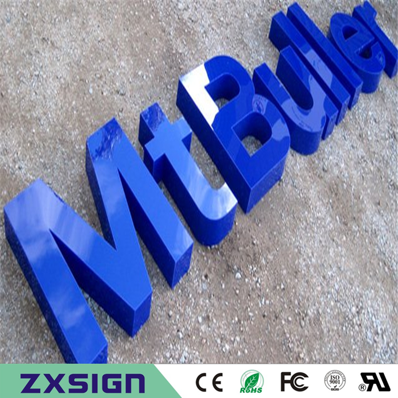 Factory Outlet Outdoor Advertising Acrylic Sign Led Letters For Restaurant Company Name Business Signs Wall Decoration In Electronic From