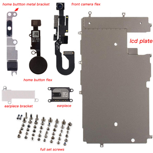 Image 4 - for iphone 6 6p 6s 6sp 7 7p 8 8 PLUS Full Set Repair Parts LCD Display Repair Parts Front Camera Ear Speaker Plate home button