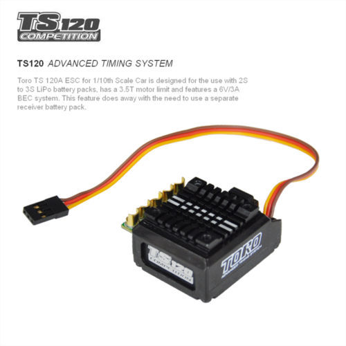 Здесь продается  Newest SKYRC TORO TS120A Speed Controller ESC Brushless Sensored SK-300044-01  Игрушки и Хобби