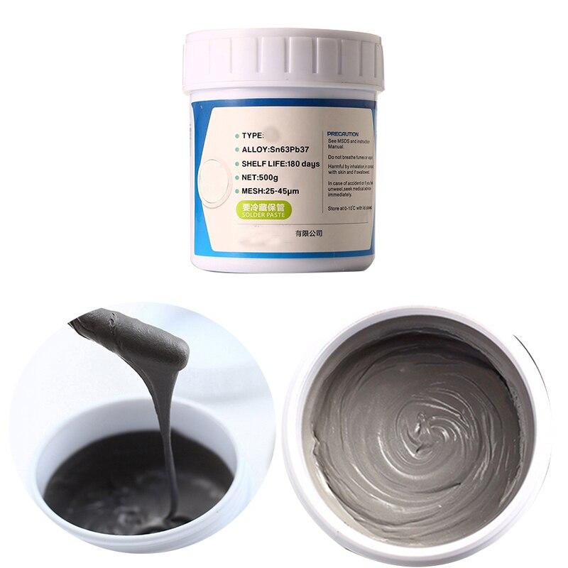 HOT Sale Low temperature No clean SMT Lead bearing LED SMT Solder Paste BGA Solder Flux