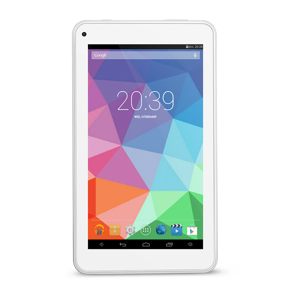 Yuntab 7 inch T7 tablet PC Android Allwinner A33 Capacitive Screen Quad Core 512MB 8GB, Dual Camera, External 3G