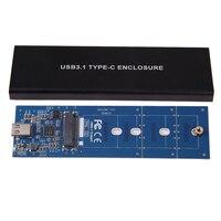 NGFF M 2 B Key SSD To USB 3 1 Type C Enclosure 5 10Gbps Converter
