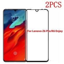 Закаленное стекло с полным покрытием для Lenovo Z6 Pro L78051, защитная пленка для Lenovo Z6 Pro L78051, 2 шт.