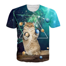 3D Print Star Cat T-shirt