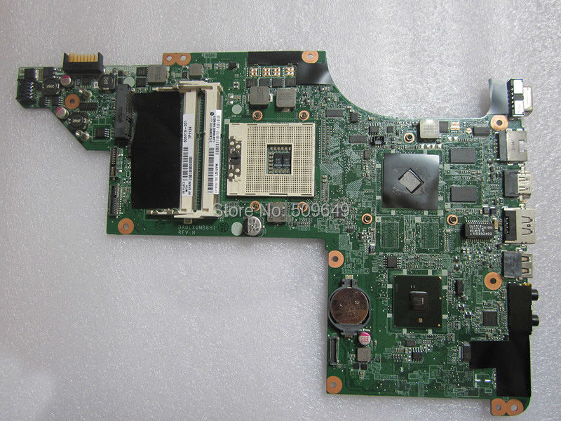 Top quality , For HP laptop mainboard DV7-4000 605319-001 DV7 laptop motherboard,100% Tested 60 days warranty top quality for hp laptop mainboard envy4 envy6 693233 002 laptop motherboard 100