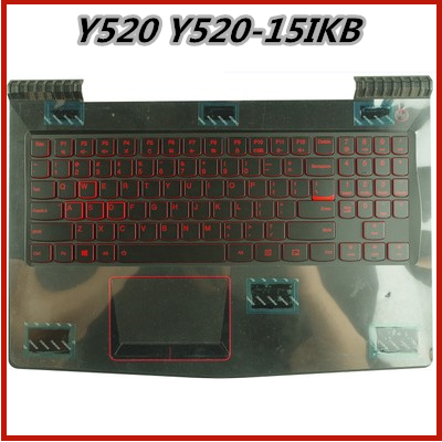 New Plamrest Upper Cover Case With English Keyboard For Lenovo Y520 Y520-15IKB