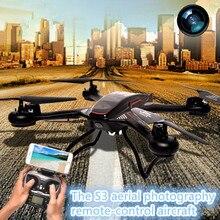 Wifi fpv rc drone 2.4 S3 GHz 4CH 6 Axis Gyro dengan kamera RC Drone Dengan Cahaya RTF Headless Modus remote control drone rc mainan model