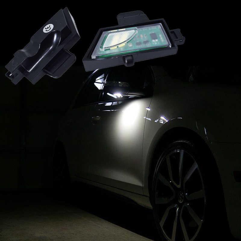 2x для Volkswagen GOLF 7 светодиодный светильник под зеркалом VW светодиодный задний зеркальный фонарь автомобиль стиль супер яркий 6000 K