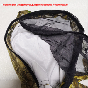 Image 4 - Anti mosquito breathable Mens bionic Pine camouflage suit Outdoor Jacket Men Army Sport Hunting Clothes fishing coat