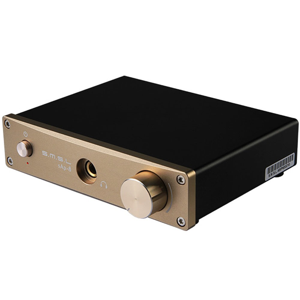 цена на SMSL sAp-8 CNC Class-A HiFi Home Stereo Headphone Amplifier MKP ALPS TOCOS