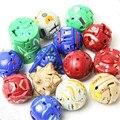 10 pçs/lote Crianças BAOWAN Deformação Brinquedos Figuras de Ação Brinquedos Figuras de Ação Jogos Atacado Azul/Vermelho/Preto/Verde 3.5 cm
