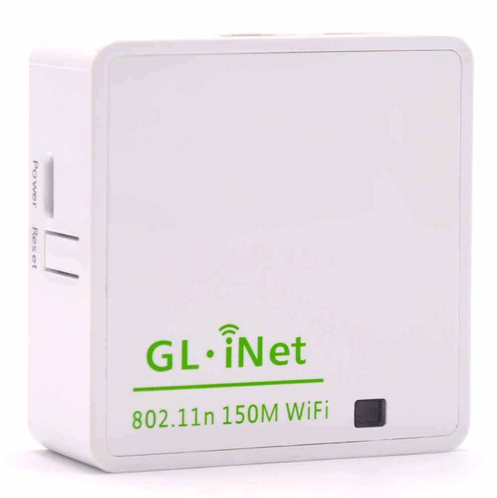 10Pcs GL iNet Atheros AR9331 802 11n 150Mbps Mini Wireless