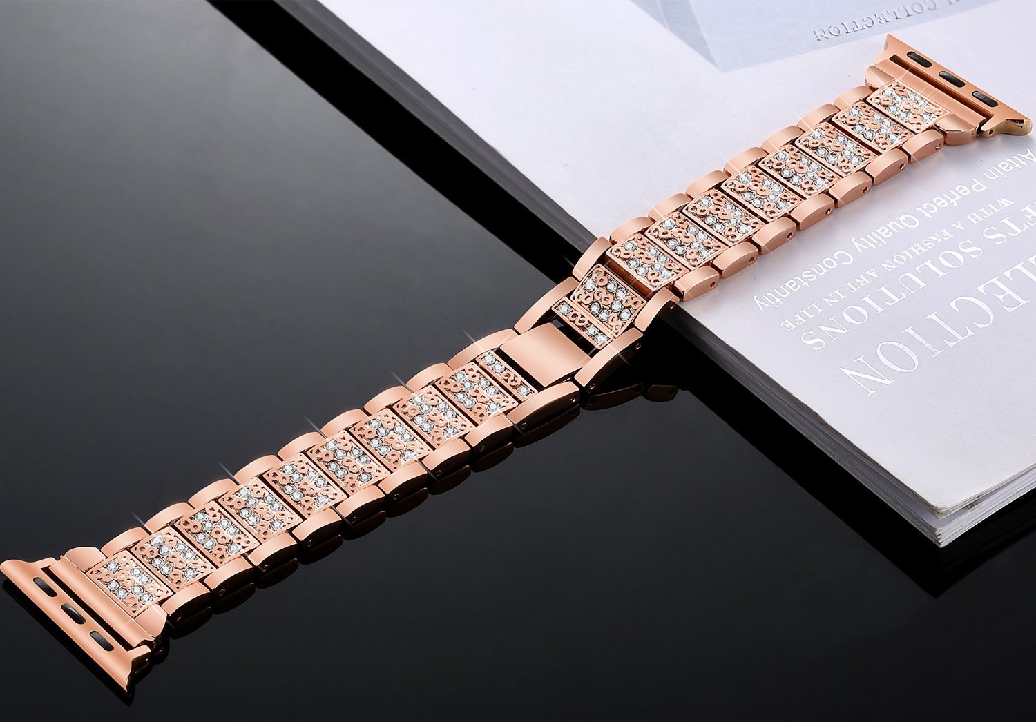 Women Diamond Band for Apple Watch 21