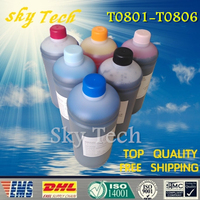 1000ML 6 Dye Refill Ink Suit For Epson T0801 T0806 Bulk Ink Suit For Epson R265