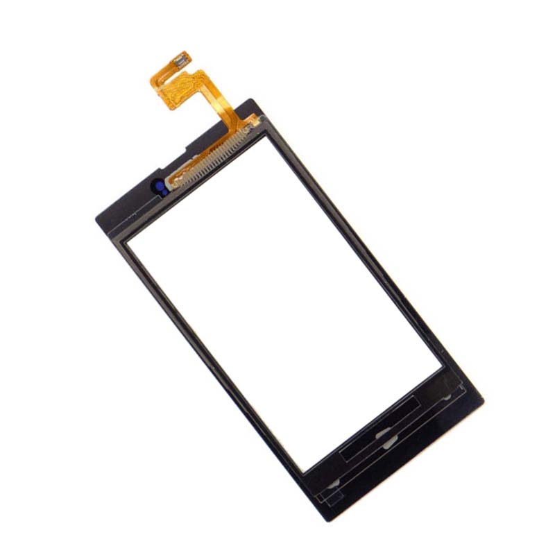 Black For Nokia lumia 520 N520 Digitizer Touch Screen Panel Sensor Glass Replacement