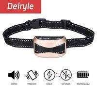 DEIRYLE Wiederaufladbare Hund Antibell Kragen Verstellbare Vibration No Bark Hundehalsband für Small Medium Large Hunde