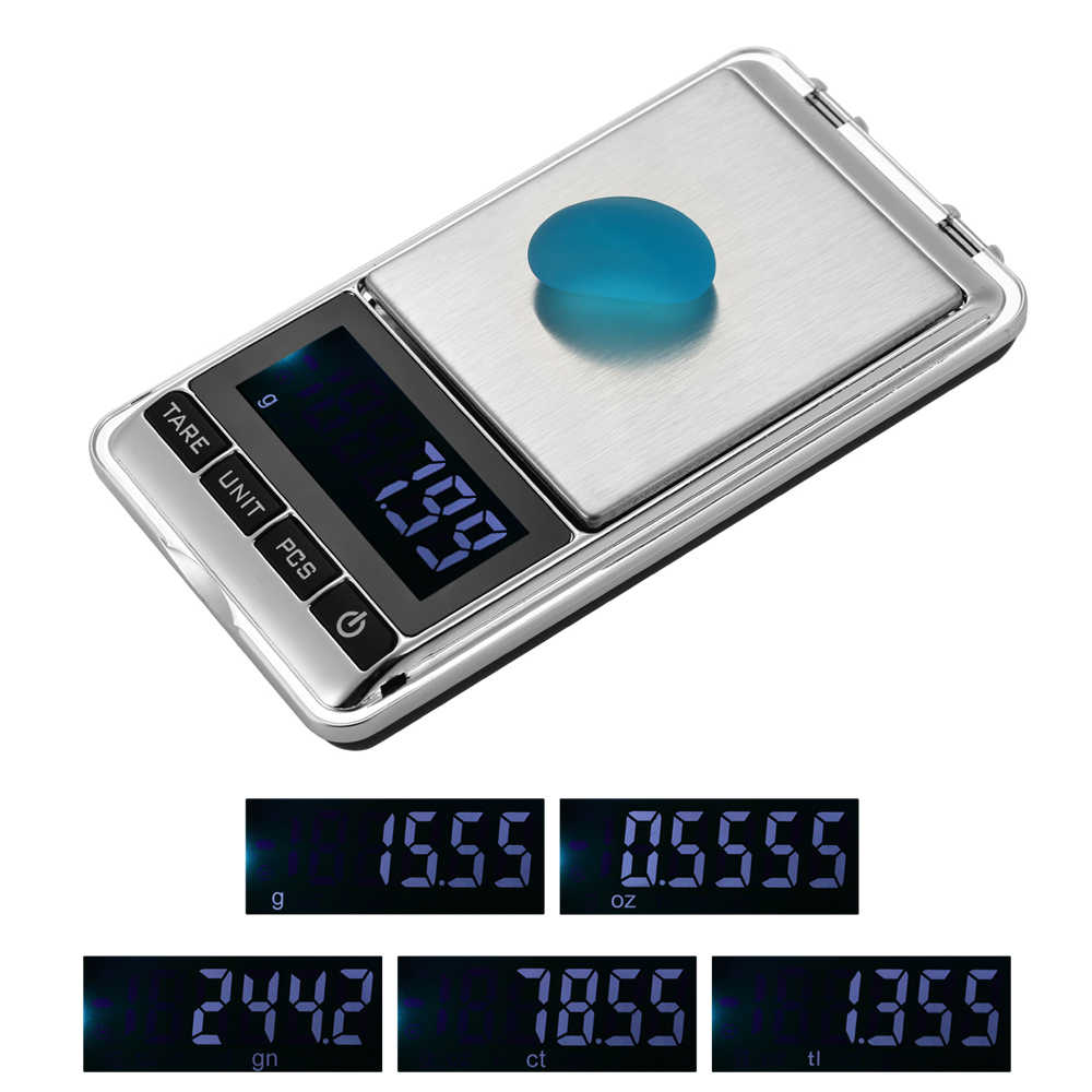 Electronic Scale High-precision Pocket Scale Jewelry Scale Mini Food Kitchen Baking Scale With LCD Display
