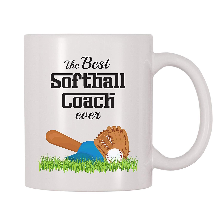 The Best Softball Coach Ever Coffee Mug 11 Oz Mugs Aliexpress