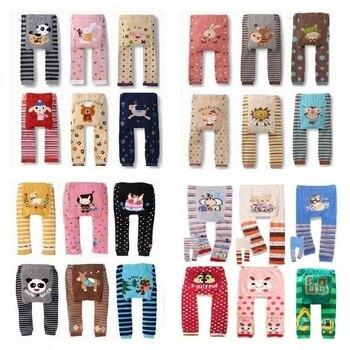 Animal Baby Girls Long Pants Newborn leggings Babies PP 100% Cotton Clothes Bebe Roupas - discount item  8% OFF Baby Clothing