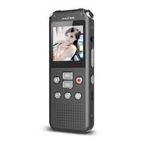 Yescool A82 Digital Voice Audio Video Recorder minicam Ricaricabile Portatile di Sostegno 64 GB Telefono Record DVR di rilevazione di movimento