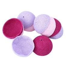 Xmas Cotton 10 Ball Fairy LED 1.8M String Light Outdoor Decor Pink+Purple+Light Purple Gift*Holiday Lighting