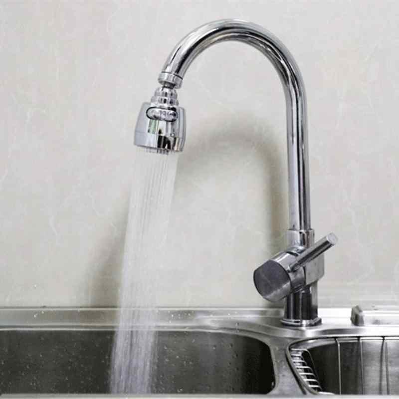 Torneira 360 graus rotativo aerador de poupança água da torneira aerador para cozinha torneira do banheiro bocal filtro adaptador bubbler
