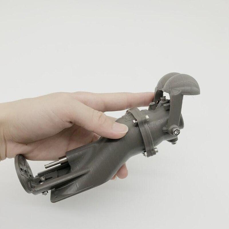 1pcs DIY Remote Control Boat Accessories 36mm Spray Water Thruster Water  Jet Pump Thruster Kit 3D Print w/Reversing