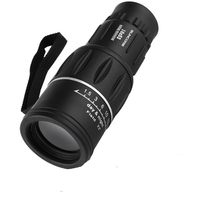 16x52 Zoom Monocular Bird Watch High Magnification Great Handheld Telescope Low Light Level Night Vision Professional Hunting