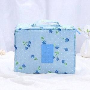 Image 2 - Make up Lagerung Tasche Reise Waschen Taschen Multi Funktionale Kosmetik Tasche Mehrzweck Reise Lagerung Pouch Organizer Lagerung Box