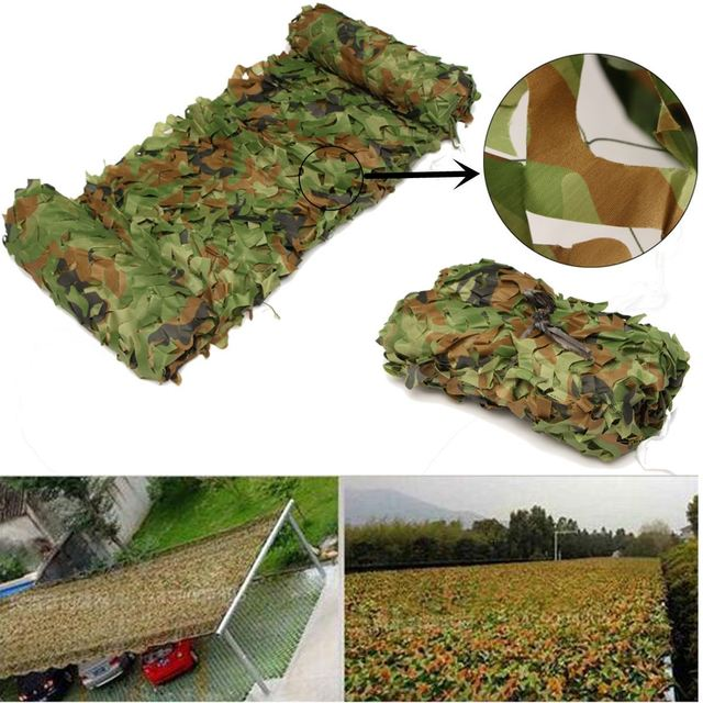 3x1.5m Desert Military Camouflage net sun shelter Jungle Blinds Hunting Camping decoration Photography Jungle Car-covers Net