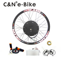 Super Speed 100km H 3000w Powerful Electric Bike Kit Hub Motor Conversion Kit